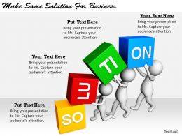 2413 Business Ppt Diagram Make Some Solution For Business Powerpoint Template