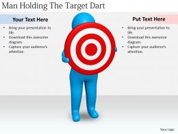 2413_business_ppt_diagram_man_holding_the_target_dart_powerpoint_template_Slide01