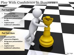 2413 Business Ppt Diagram Play With Confidence In Business Powerpoint Template