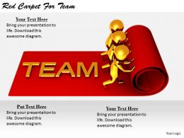 2413 Business Ppt Diagram Red Carpet For Team Powerpoint Template