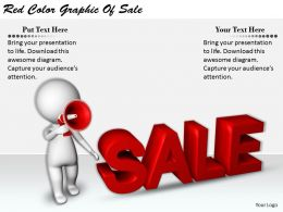 2413 Business Ppt Diagram Red Color Graphic Of Sale Powerpoint Template