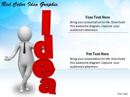 2413 Business Ppt Diagram Red Color Idea Graphic Powerpoint Template