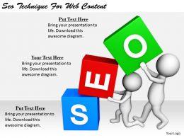 2413 Business Ppt Diagram Seo Technique For Web Content Powerpoint Template
