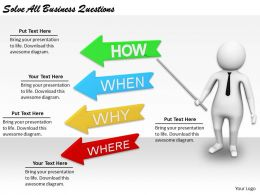 2413 Business Ppt Diagram Solve All Business Questions Powerpoint Template
