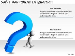 2413 Business Ppt Diagram Solve Your Business Question Powerpoint Template