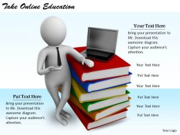 2413 Business Ppt Diagram Take Online Education Powerpoint Template