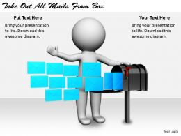 2413 Business Ppt Diagram Take Out All Mails From Box Powerpoint Template