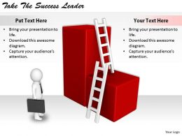 2413 Business Ppt Diagram Take The Success Leader Powerpoint Template