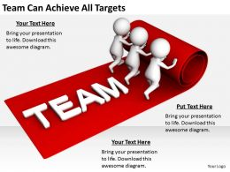 2413 Business Ppt Diagram Team Can Achieve All Targets Powerpoint Template