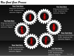 2413 Business Ppt Diagram Use Good Gear Process Powerpoint Template