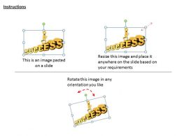 2413 Business Ppt Diagram Win The Race Of Success Powerpoint Template