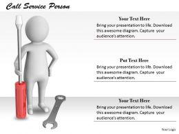 2413 Call Service Person Ppt Graphics Icons Powerpoint