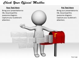 2413 Check Your Official Mailbox Ppt Graphics Icons Powerpoint