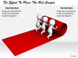 2413 Do Effort To Place The Red Carpet Ppt Graphics Icons Powerpoint