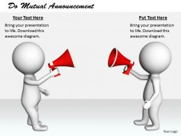 2413 Do Mutual Announcement Ppt Graphics Icons Powerpoint