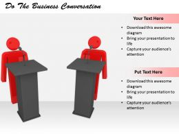 2413 Do The Business Conversation Ppt Graphics Icons Powerpoint