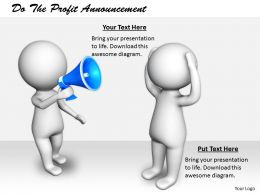 2413 Do The Profit Announcement Ppt Graphics Icons Powerpoint