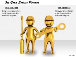 2413 Get Good Service Persons Ppt Graphics Icons Powerpoint