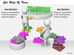 2413 Get Help Of Team Ppt Graphics Icons Powerpoint