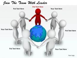 2413 Join The Team With Leader Ppt Graphics Icons Powerpoint