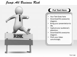 2413 Jump All Business Risk Ppt Graphics Icons Powerpoint