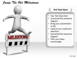 2413 Jump The Old Milestones Ppt Graphics Icons Powerpoint