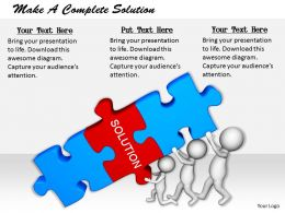 2413 Make A Complete Solution Ppt Graphics Icons Powerpoint