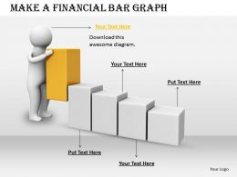 2413 Make A Financial Bar Graph Ppt Graphics Icons Powerpoint
