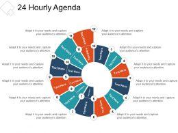 24 Hourly Agenda Presentation Outline