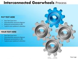24 Interconnected Gearwheels Process