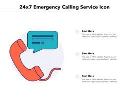 24x7 Emergency Calling Service Icon