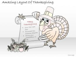 2502 Business Ppt Diagram Amazing Layout Of Thanksgiving Powerpoint Template