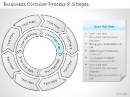 2502 Business Ppt Diagram Business Circular Process 8 Stages Powerpoint Template