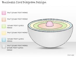 2502 Business Ppt Diagram Business Core Diagram Design Powerpoint Template