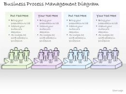 2502 Business Ppt Diagram Business Process Management Diagram Powerpoint Template