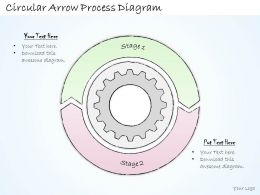 2502 Business Ppt Diagram Circular Arrow Process Diagram Powerpoint Template