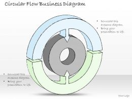 2502 Business Ppt Diagram Circular Flow Business Diagram Powerpoint Template