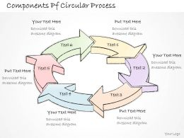 2502 Business Ppt Diagram Components Pf Circular Process Powerpoint Template