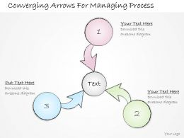 2502 Business Ppt Diagram Converging Arrows For Managing Process Powerpoint Template