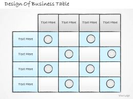 2502 Business Ppt Diagram Design Of Business Table Powerpoint Template