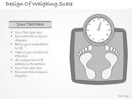 2502 Business Ppt Diagram Design Of Weighing Scale Powerpoint Template