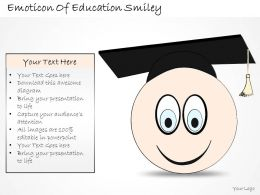 2502 Business Ppt Diagram Emoticon Of Education Smiley Powerpoint Template