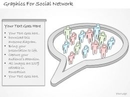 2502 Business Ppt Diagram Graphics For Social Network Powerpoint Template