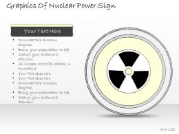 2502 Business Ppt Diagram Graphics Of Nuclear Power Sign Powerpoint Template