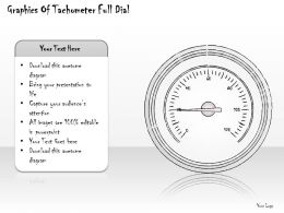 2502 Business Ppt Diagram Graphics Of Tachometer Full Dial Powerpoint Template
