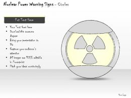 2502 Business Ppt Diagram Illustration Of Nuclear Power Powerpoint Template