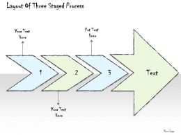 2502 Business Ppt Diagram Layout Of Three Staged Process Powerpoint Template