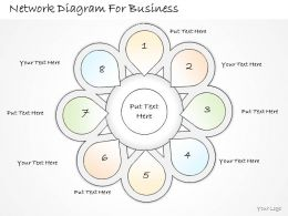 2502 Business Ppt Diagram Network Diagram For Business Powerpoint Template