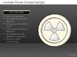 2502 Business Ppt Diagram Nuclear Power Circles Design Powerpoint Template