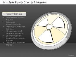 2502 Business Ppt Diagram Nuclear Power Circles Diagram Powerpoint Template